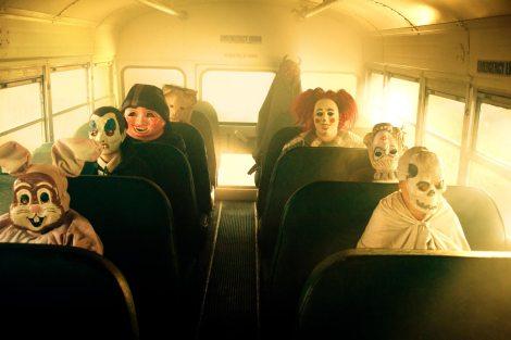 trick 'r treat movie schoolbus kids costumes halloween