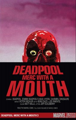 deadpool cover marvel comics merc with mouth 2