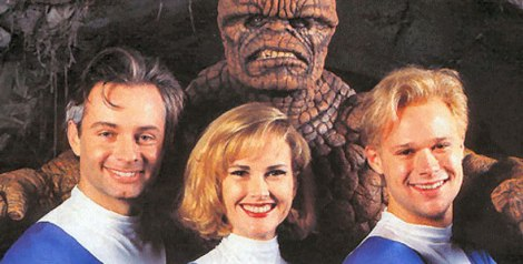 the fantastic four 4 1994 roger corman shitty awful costumes uniforms