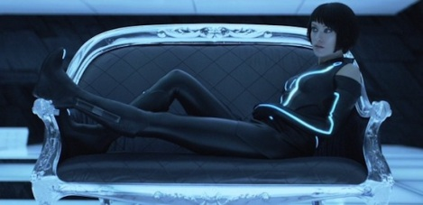 tron legacy olivia wilde hot sexy couch