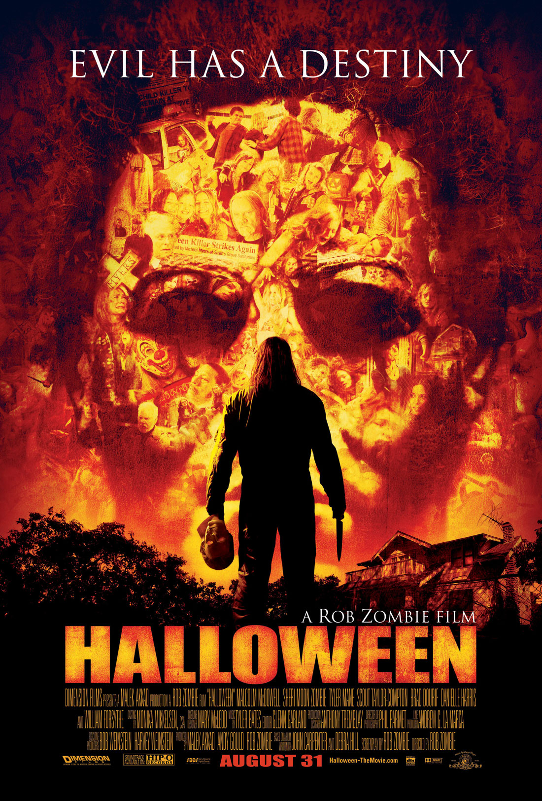halloween remake movie poster 2007 rob zombie1 Free Teenage Pussy. vagina of teenager