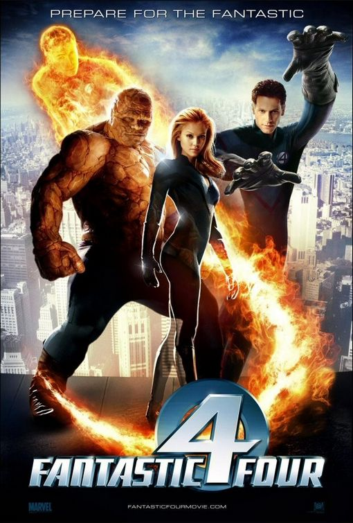 fantastic four 4 movie poster 2005