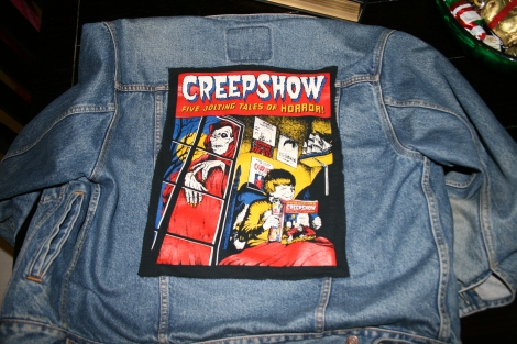 creepshow jacket vest shirt patch punk rock merch