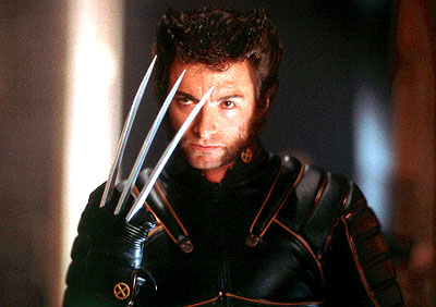 x men movie 2000 hugh jackman wolverine claws logan