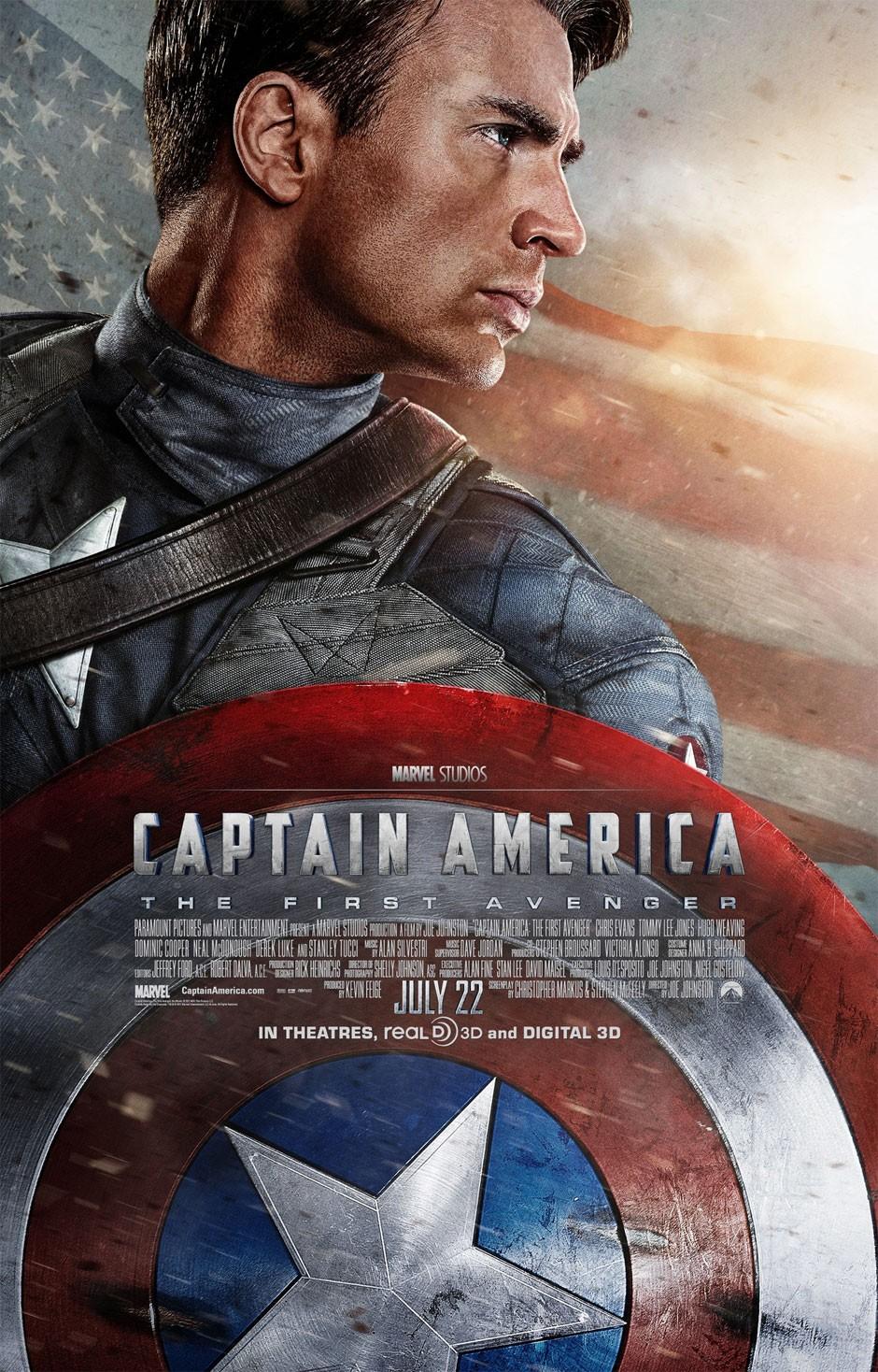 Captain america the first avenger 2011 - I