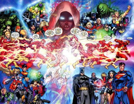 flashpoint five 5 running through time universe collapse