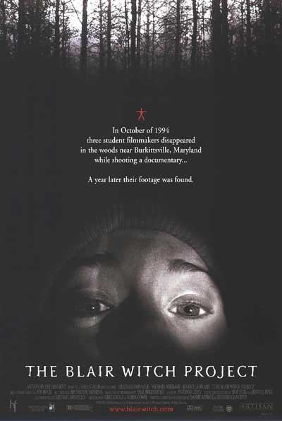 a review of the blair witch project Is the film 'the blair witch project' really a film shot by students who mysteriously  the blair witch project review (salon) method.