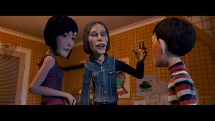 Monster House (2006) [REVIEW]   The Wolfman Cometh Maggie Gyllenhaal Kids