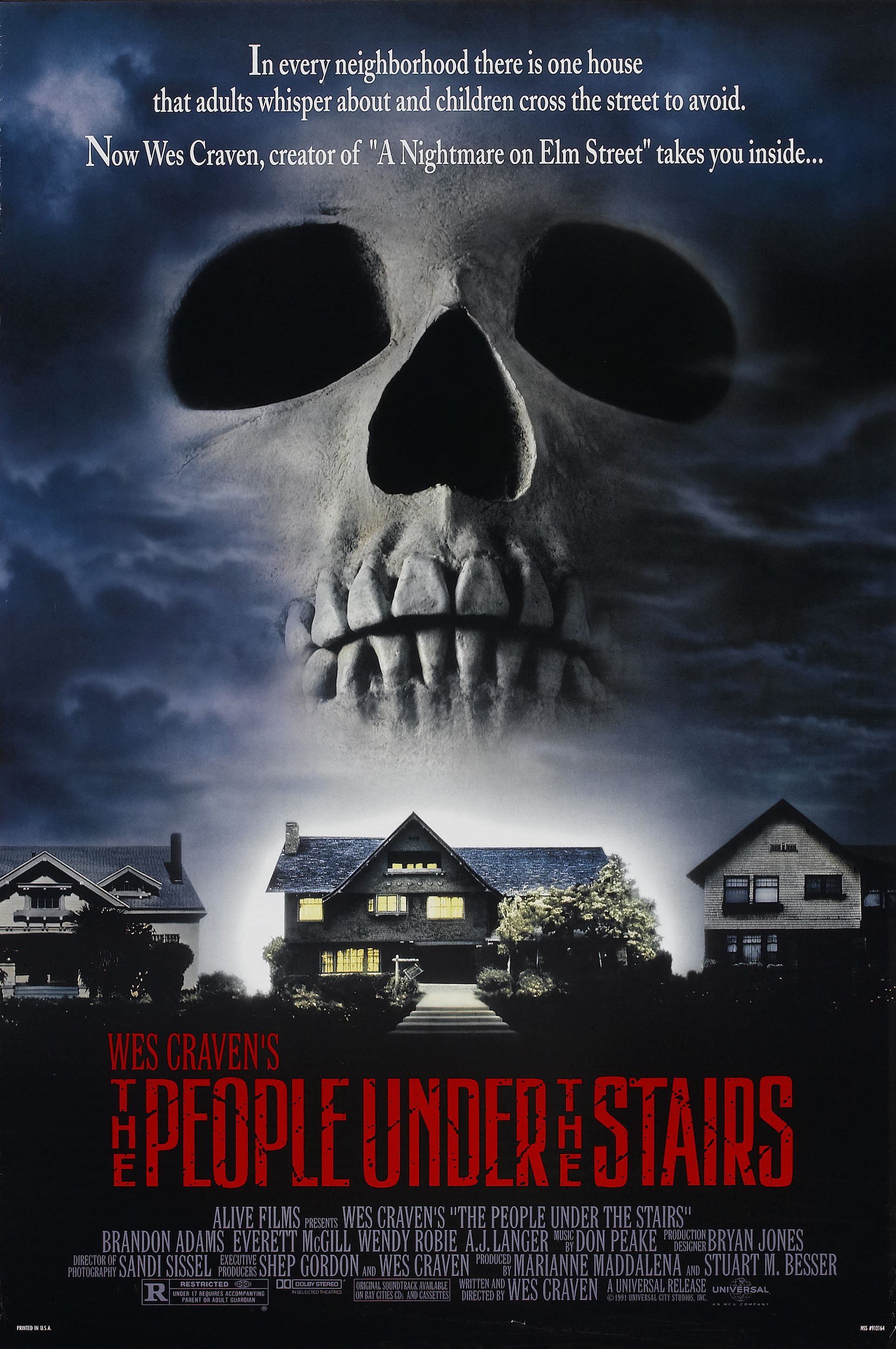 The People Under The Stairs 1991