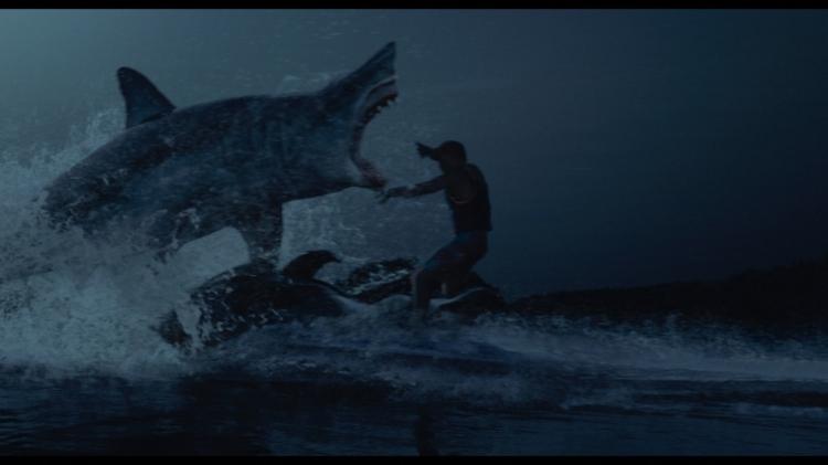 shark night 3d movie great white shark jump jet ski
