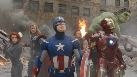 the avengers group shot movie film gang everyone