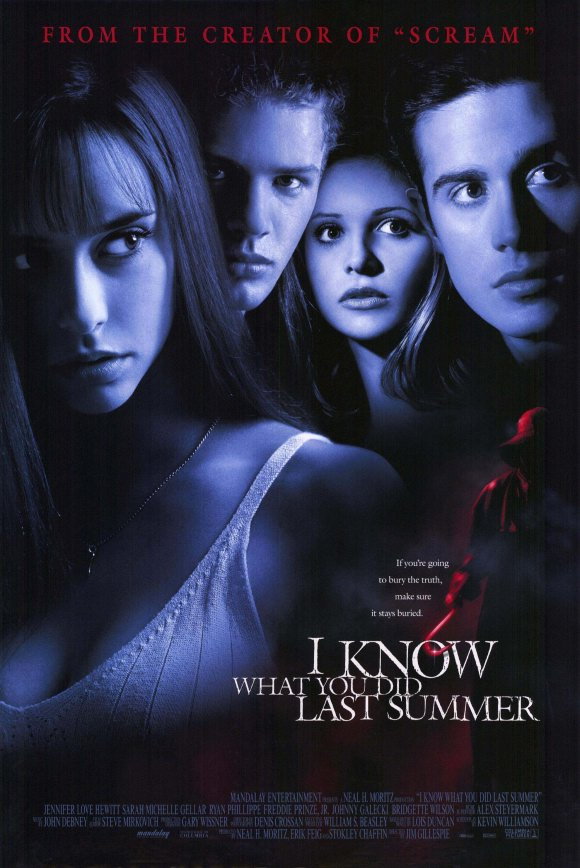 i know what you did last summer movie poster jennifer love hewitt Ariana Richards Nude & Non Nude Pictures