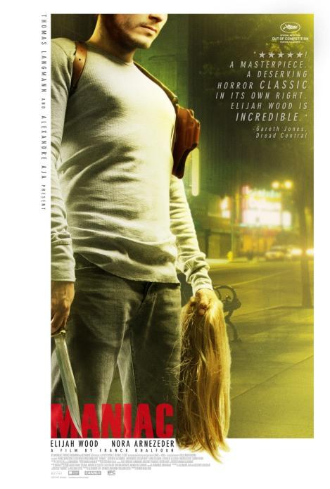 maniac remake poster elijah wood 2012