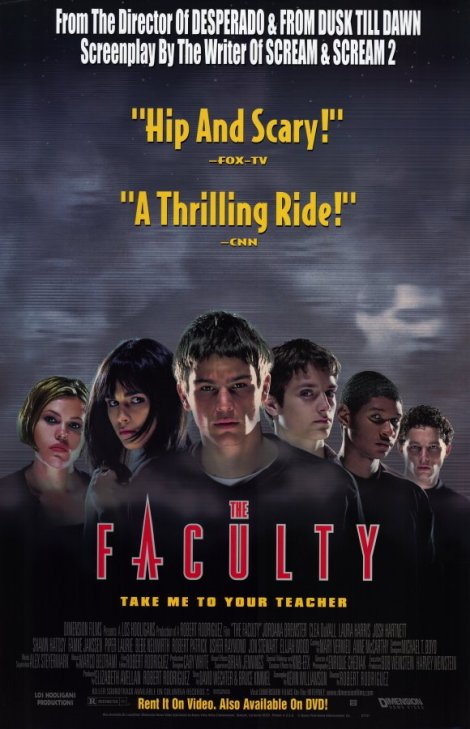 the faculty movie poster josh hartnett