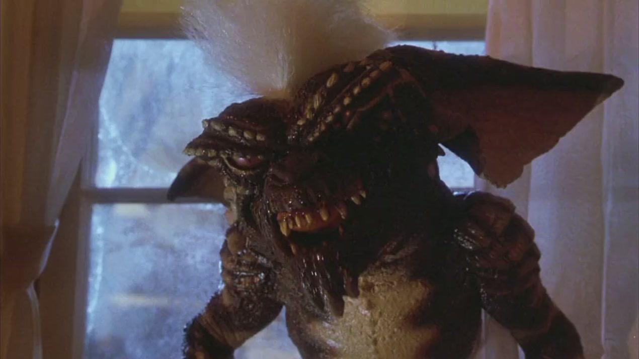 gremlins movie mohawk spike stripe | The Wolfman Cometh