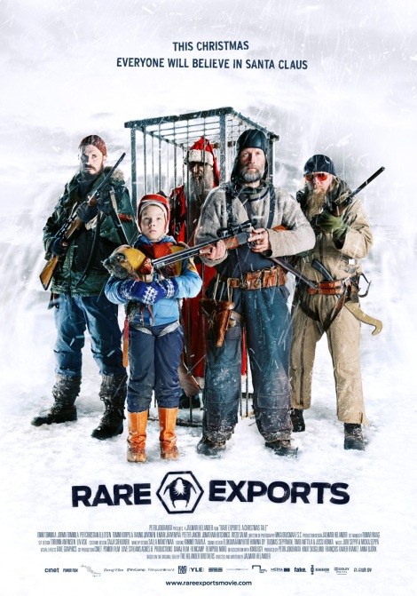 rare exports a christmas tale movie poster