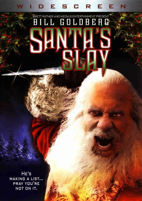 santas slay movie poster dvd cover