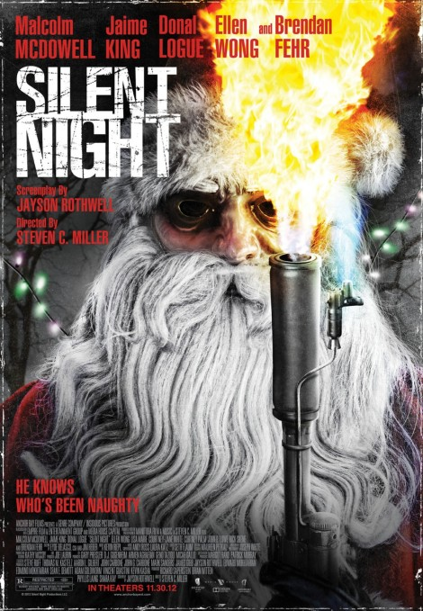 silent night 2012 remake movie poster
