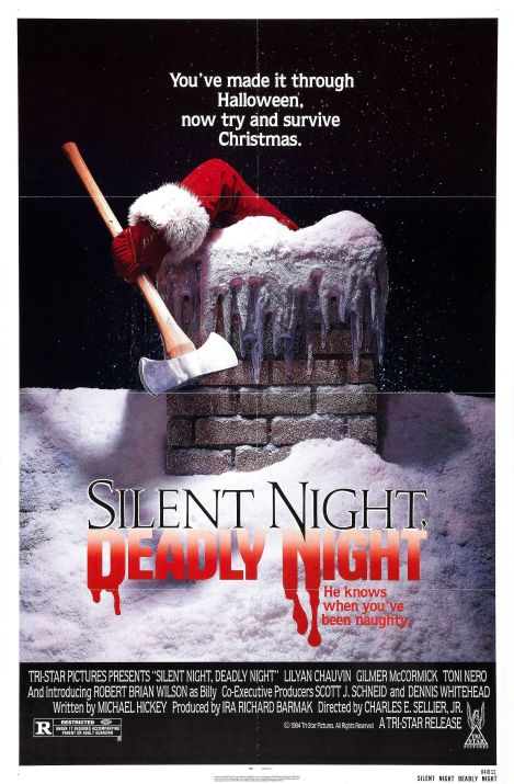 silent night deadly night movie poster 1984