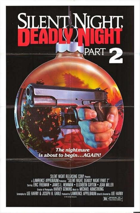 silent night deadly night part 2 movie poster