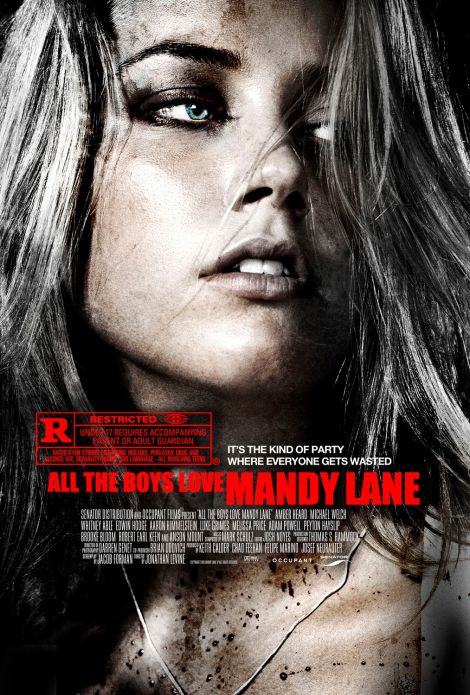 all the boys love mandy lane poster amber heard