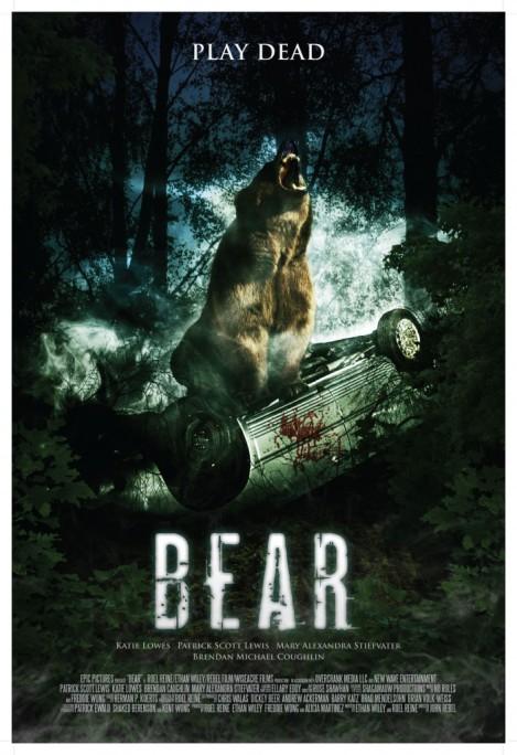 bear movie poster car