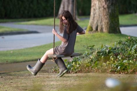 the possession movie girl swingset demon