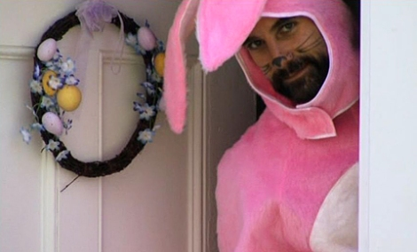 home movie horror film adrian pasdar bunny suit