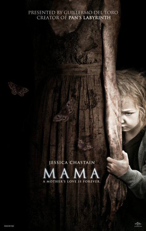 mama movie poster 2013 jessica chastain