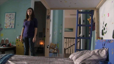 Katie Featherston in PARANORMAL ACTIVITY 4, from Paramount Pictures.