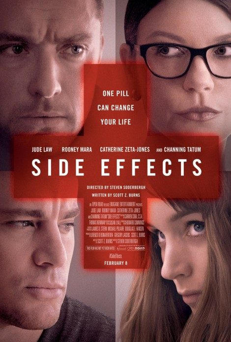 side effects movie poster rooney mara