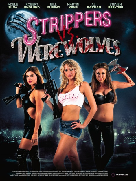 strippers vs werewolves movie poster Barbara Nedeljakova
