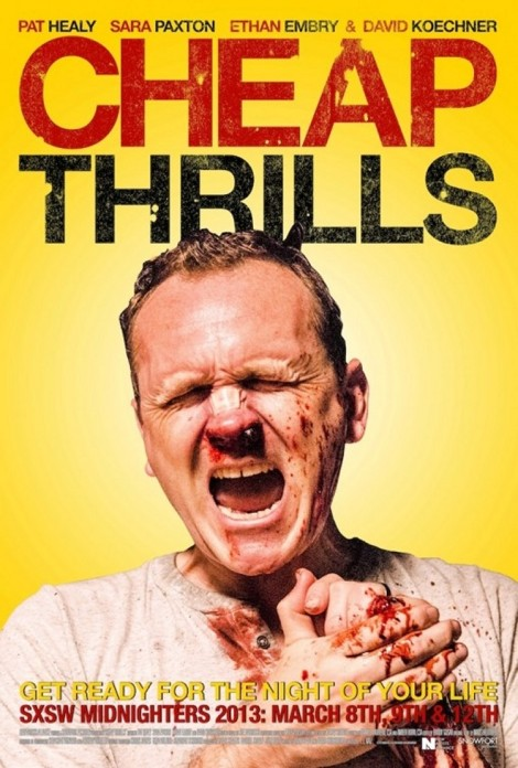 cheap thrills poster 2013 pat healy