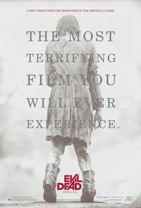 evil dead remake movie poster 2013