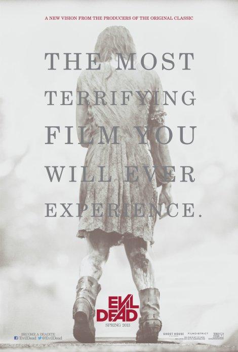 evil dead remake movie poster 2013