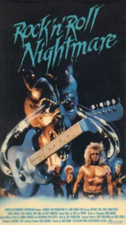 rock n roll nightmare edge of hell movie poster cover