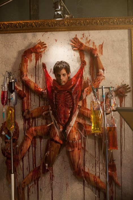 the collection movie dead body spider