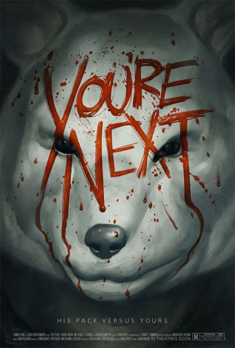 you're next movie poster sharni vinson mask