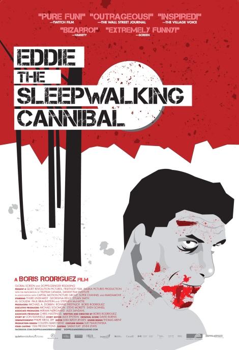 eddie the sleepwalking cannibal movie poster
