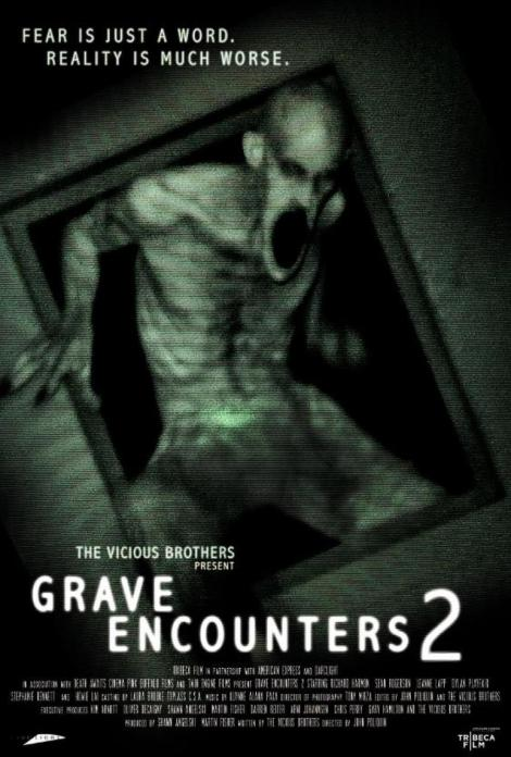 grave encounters 2 movie poster dvd cover