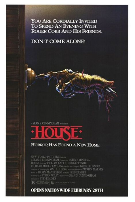 house movie poster 1986