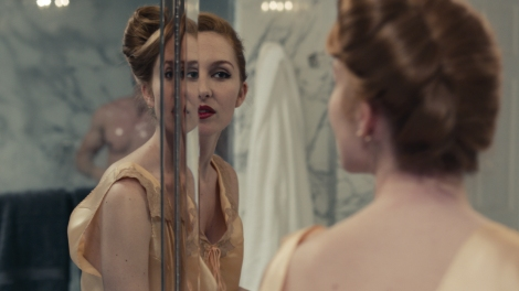 kiss of the damned Joséphine de La Baume mirror