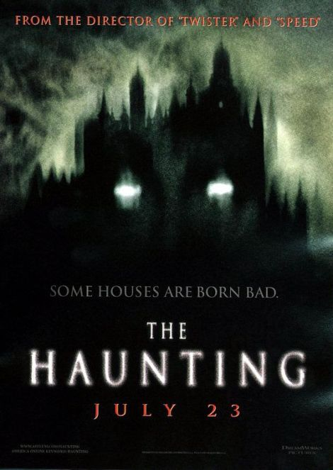 the haunting movie poster 1999 catherine zeta jones remake