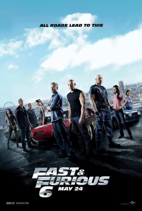 fast and furious 6 movie poster 2013
