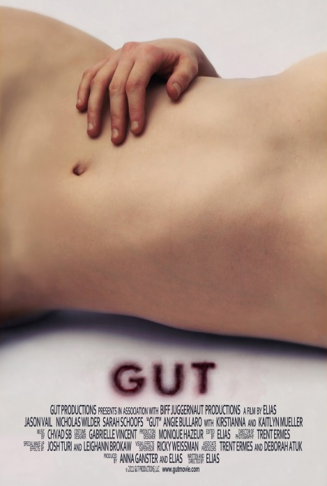 gut movie poster stomach torso 2012