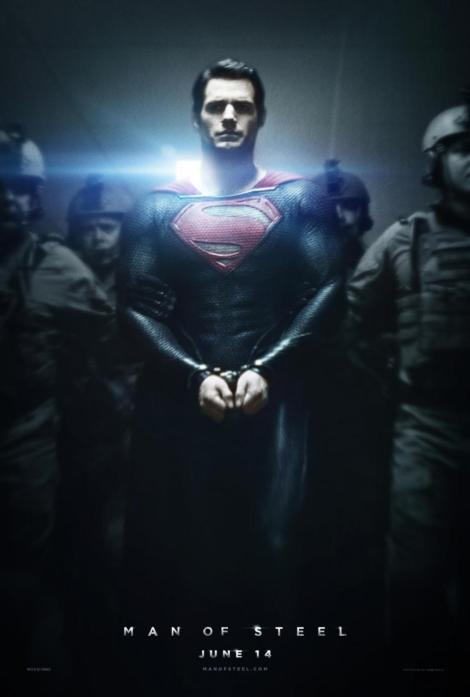 man of steel movie psoter 2013