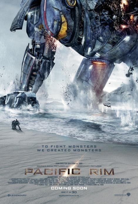 pacific rim movie poster charlie hunnam 2013