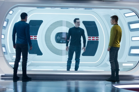 star trek into darkness benedict cumberbatch chris pine