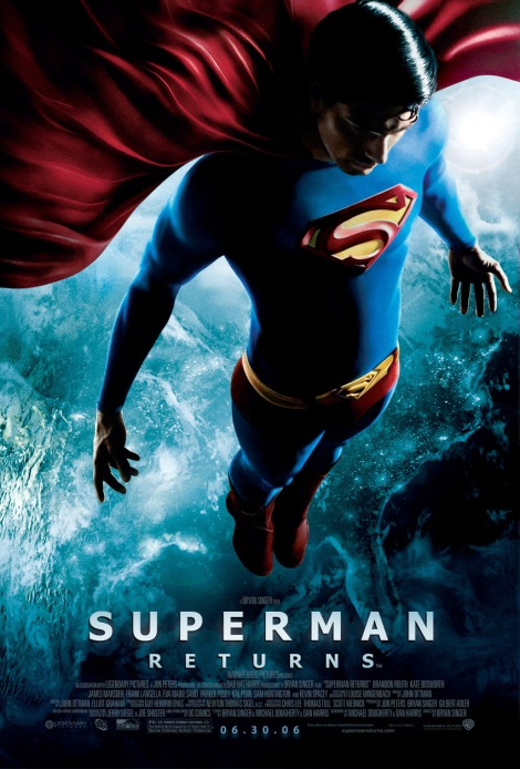 Superman Returns movie poster brandon routh 2006