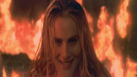 the ninth gate lena olin castle fire demon